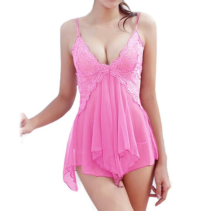 Pink Nightgown Goddess - Oluria